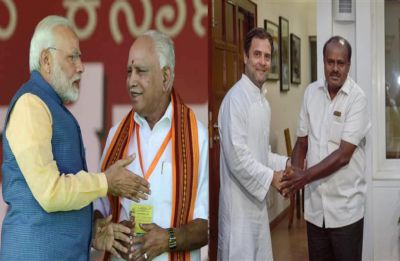 Karnataka Exit Poll 2019 LIVE: Will Congress-JDS alliance defeat BJP in southern state?