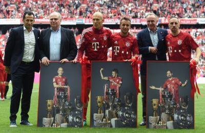 Bayern Munich seal seventh consecutive Bundesliga title, 29th overall