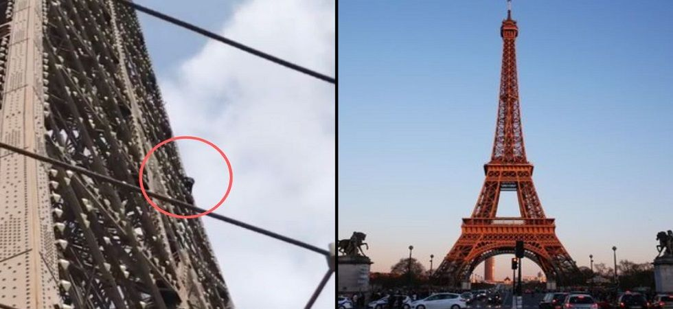 Eiffel Tower evacuated after climber spotted on monument: Reports