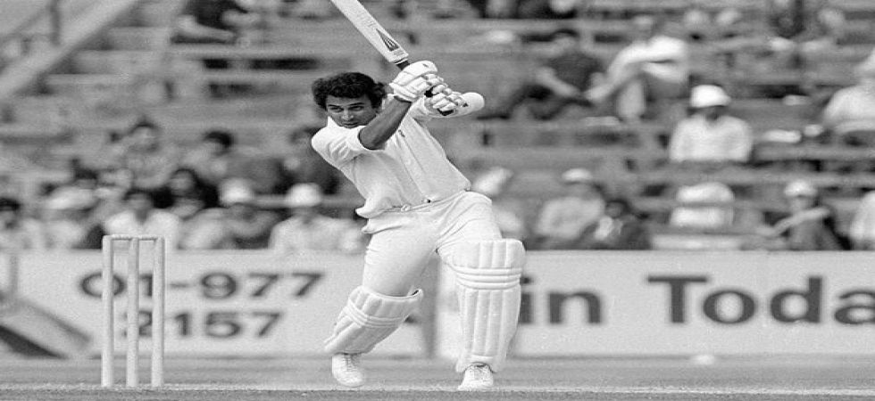 Sunil Gavaskar performed consistently but India had a disastrous World Cup campaign, losing all three games including one to Sri Lanka. (Image credit: ICC Twitter)