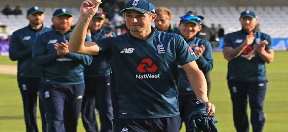 Chris Woakes took 5/54, including three wickets in two overs as England won by 54 runs against Pakistan in the final ODI at Leeds. (Image credit: Twitter)