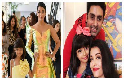 ''Make-up on that kid''? Aishwarya Rai Bachchan trolled for letting Aaradhya Bachchan wear makeup