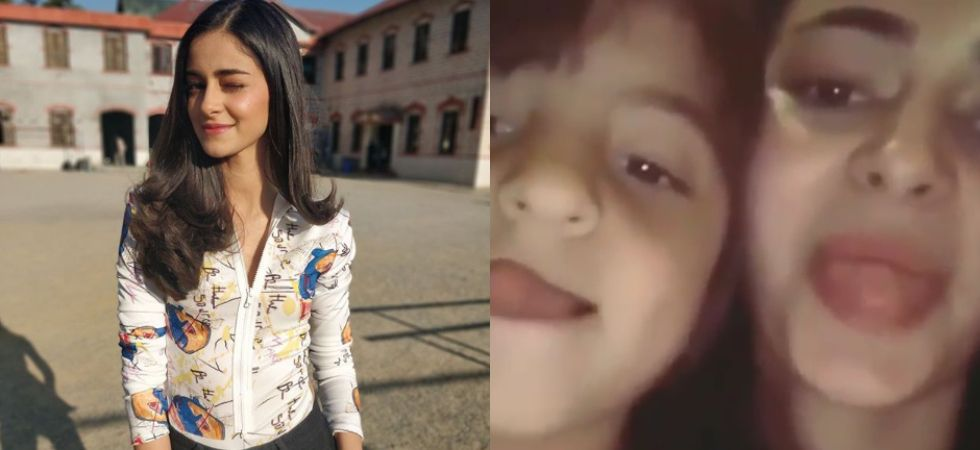 Ananya Panday's goofy video with SRK's son AbRam is just unmissable.