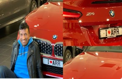 AR Rahman fan dedicates new car to his icon in special way; gets heartfelt reply