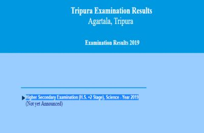 TBSE Result 2019: Tripura Board to declare Class 12 Science Result tomorrow at tripuraresults.nic.in