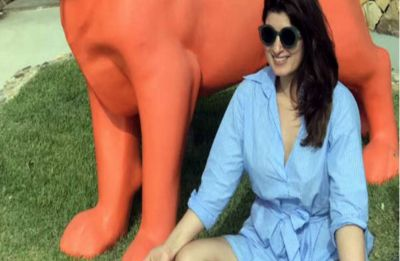 Twinkle Khanna's latest meditation pic and tweet takes jibe on PM Modi's Kedarnath visit?