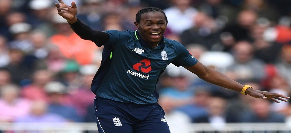 Jofra Archer set to play his first World cup for England (Image Credit: Twitter)