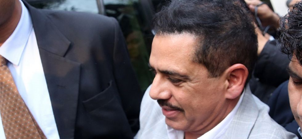 Vadra, facing investigation in a money laundering case, was directed on April 1 not to leave the country without prior permission by a court here which had granted him anticipatory bail while imposing several other conditions. (File photo)