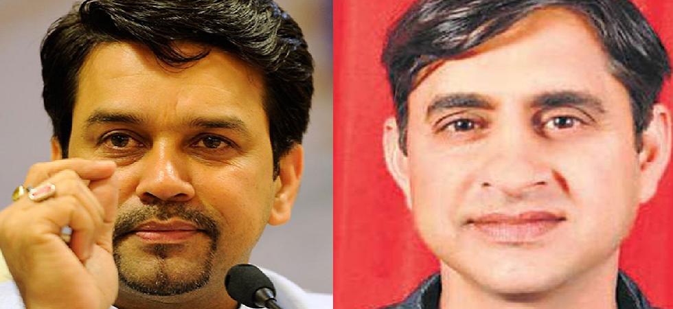 Anurag Thakur (BJP) and Pawan Kajal (Congress)