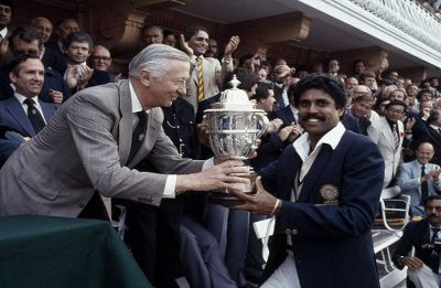 1983 World Cup: Kapil Dev's India arrive in grand style on the cricketing world