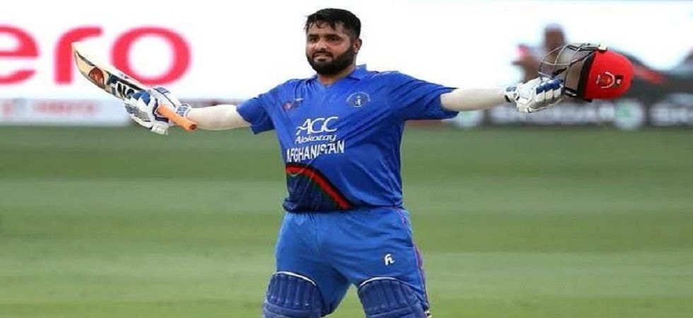 Mohammad Shahzad blasted a century, his sixth in ODIs as Afghanistan defeated Ireland in the final international before the ICC Cricket World Cup 2019. (Image credit: Twitter)