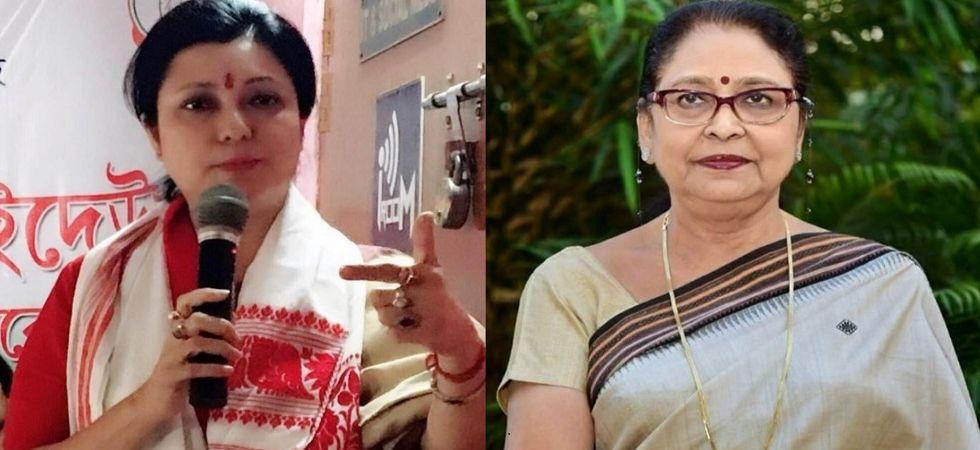 BJP's Bobbeeta Sharma and Congress' Queen Ojha (File Photo)