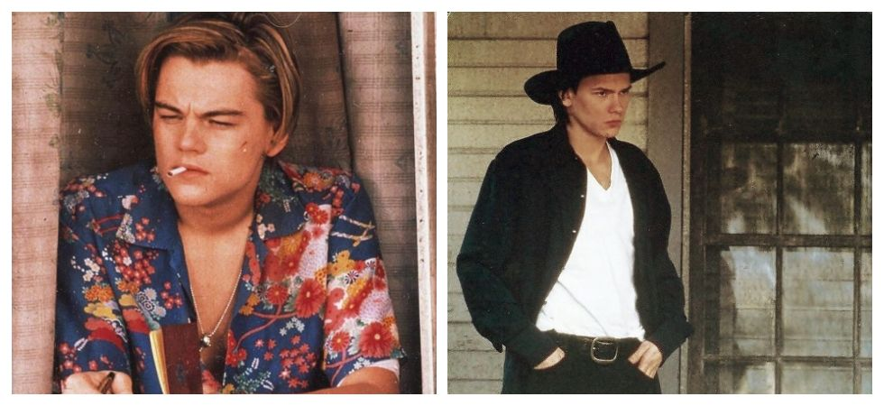 DiCaprio and River Phoenix (Photo: Instagram)