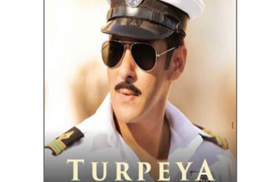 Watch: Salman Khan crooning in naval uniform for new Bharat song 'Turpeya' out now!