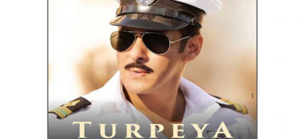 Salman Khan crooning in naval uniform for new Bharat song 'Turpeya' out now!