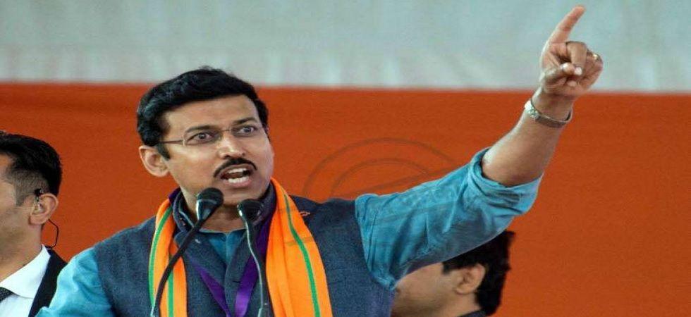 BJP candidate from Jaipur-rural Rajyavardhan Singh Rathore (File Photo)