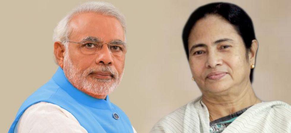 Mamata Banerjee and Narendra Modi (File Photo)