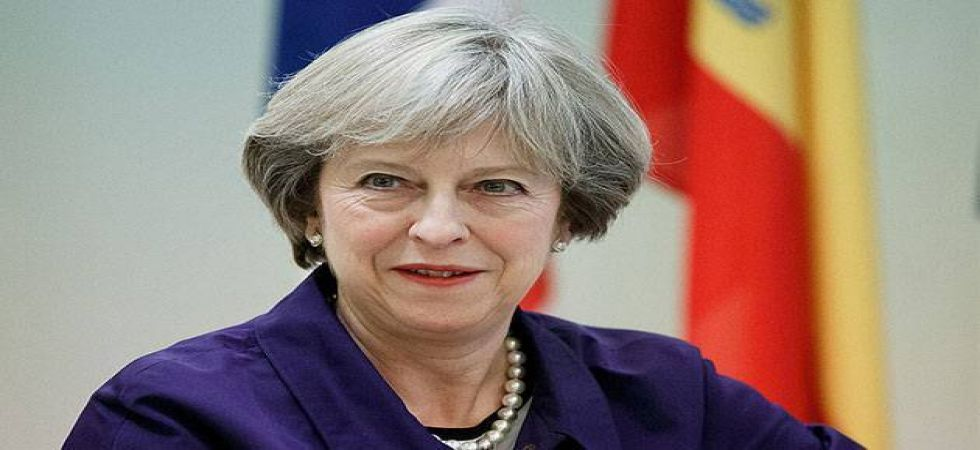 Britain's Prime Minister Theresa May announces resignation, says she will step down as leader of the Conservative Party on June 7