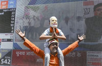 In Uttar Pradesh, BJP gets 60 and counting, SP-BSP struggles to touch 15