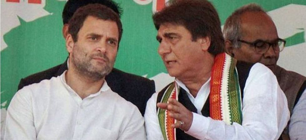 Of the 80 seats in Uttar Pradesh, Congress managed to win only the Rae Bareli seat of Sonia Gandhi and Raj Babbar, who contested from Fatehpur Sikri, lost by a margin of over 4,95,065 votes to BJP's Rajkymar Chahar. (File photo)