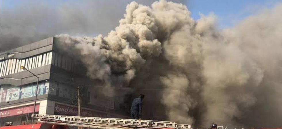 CM Vijay Rupani said the state government has brought in forensic experts to find the exact cause of the fire. (Image Credit: Twitter)