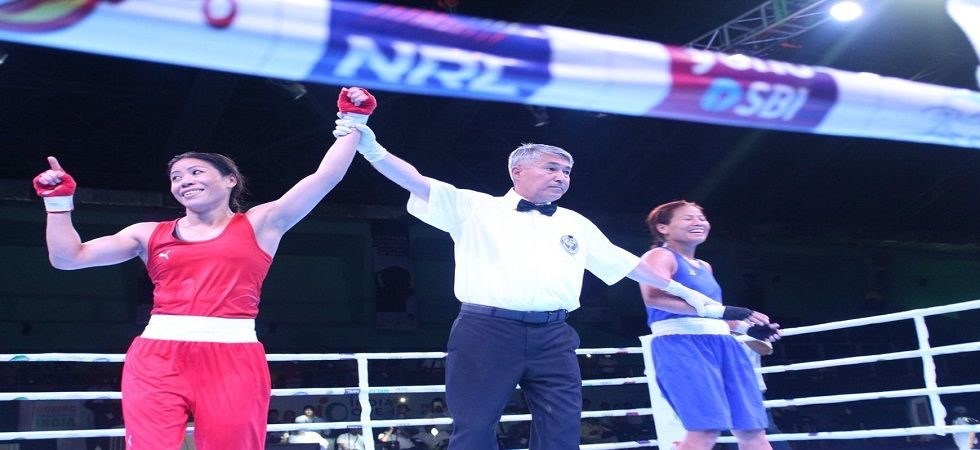 Mary Kom, Sarita lead hosts' gold rush on final day (Image Credit: Twitter)