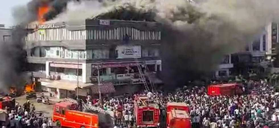 Gujarat government has ordered a fire safety audit of all the schools, hospitals, malls and other commercial buildings. (PTI Photo)