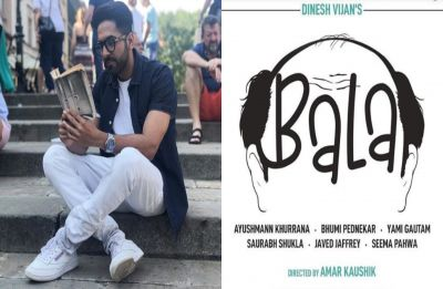 Ayushmann Khurrana bares about challenges he faced while portraying stages of baldness in Bala