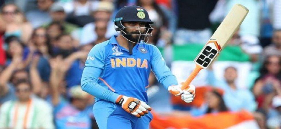 Ravindra Jadeja scored a fifty but India could not win against New Zealand in the ICC Cricket World Cup 2019. (Image credit: Twitter)