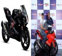 TVS Apache RR 310 with Race Tuned Slipper Clutch introduced in India at Rs 2.27 lakh