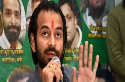 Leave RJD if you don't like Tejashwi's leadership: Tej Pratap to party workers