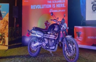 Triumph Scrambler 1200 XC launched in India at Rs 10.73 lakh: Features inside