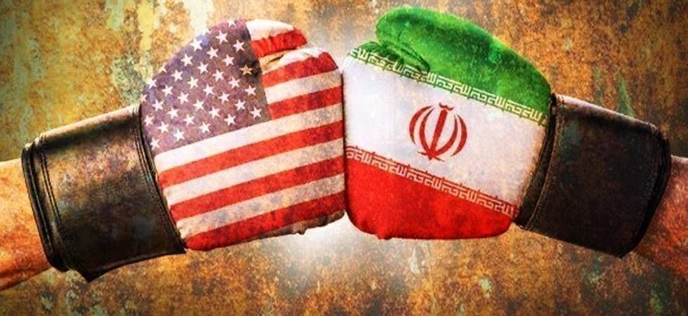 "Iran on Monday hit out at the United States for ""causing tensions"" in the region"