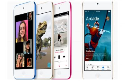 Apple unveils first new iPod model with touch features in four years