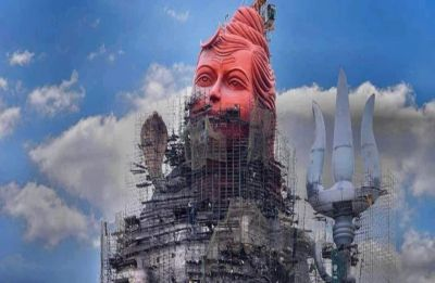 Statue of Belief: World's tallest Lord Shiva statue currently under construction, likely to be completed by August