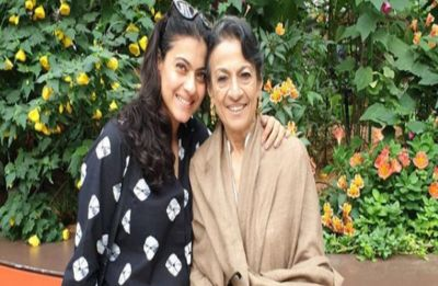 Veteran actress Tanuja hospitalised after complaints of abdominal pain, Kajol visits mother