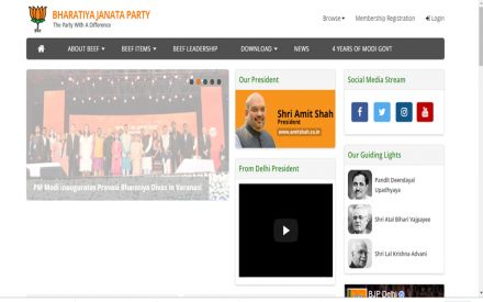Beef items served on hacked BJP Delhi website as PM Modi