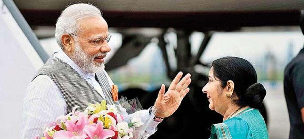 PM Narendra Modi and Sushma Swaraj
