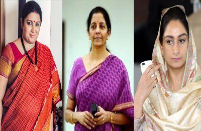 From Smriti Irani to Harsimrat Kaur Badal - Six women ministers who inducted into Modi Cabinet 2.0