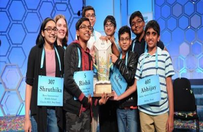 National Spelling Bee 2019: First time in nearly 100 years, record 7 Indian-origin students share championship title