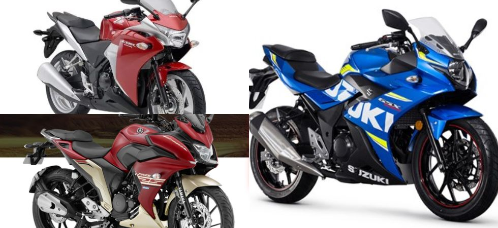 Suzuki Gixxer 250 Vs Honda CBR 250R Vs Yamaha Fazer 25: Comparison (File Photo)