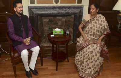 Sitharaman becomes first full-time woman Finance Minister of India, Anurag Thakur takes over as MoS