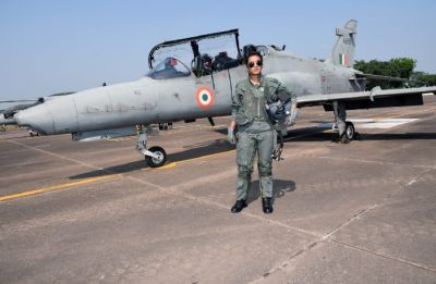 Indian Air Force Flight Lieutenant Mohana Singh becomes first woman fighter pilot to qualify for Hawk sorties