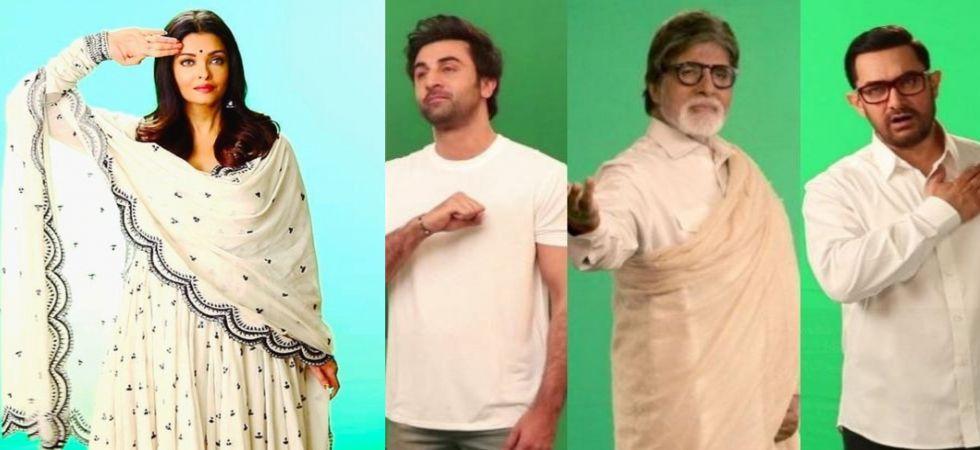 Aishwarya Rai Bachchan shoots for Pulwama attack tribute song, 'Tu Desh Mera'