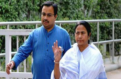 Suspended Trinamool leader Kunal Ghosh meets Mamata Banerjee after six years