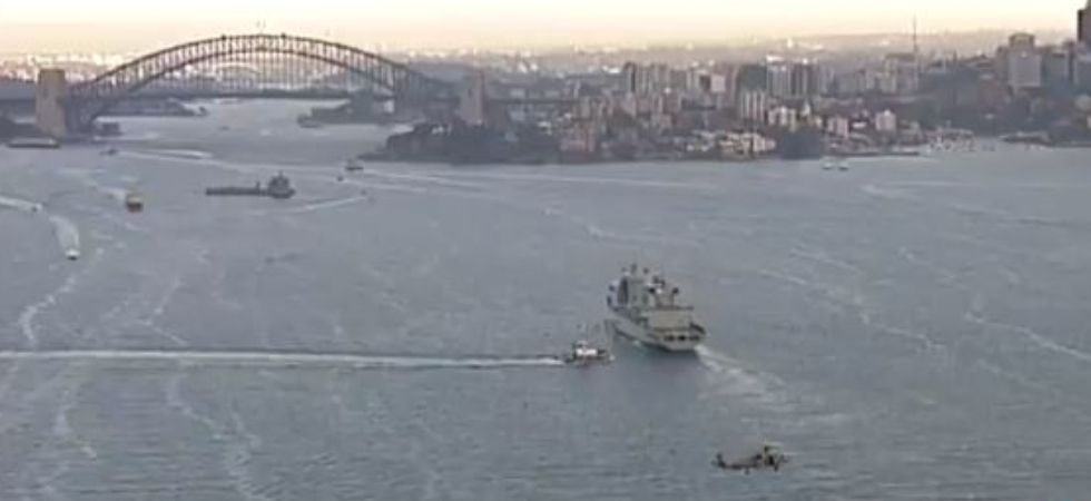 Video grab sourced from @7NewsSydney/Twitter