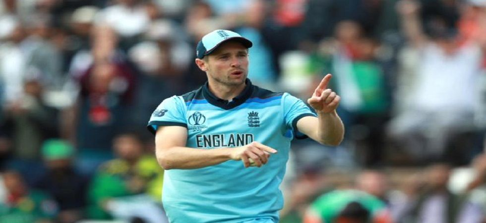 Chris Woakes took a brilliant catch as England applied the pressure against Pakistan in the ICC Cricket World Cup 2019 clash in Trent Bridge. (Image credit: Cricket World Cup Twitter)