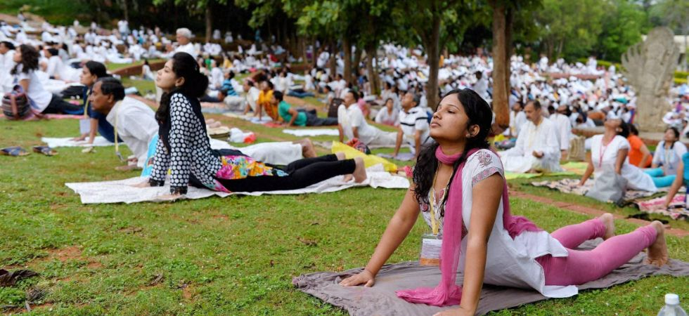 Yoga boosts health, mental well-being in older adults./ Image: PTI