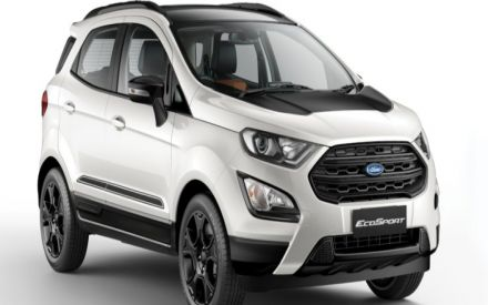 Ford Ecosport Thunder Edition With Cosmetic Changes Launched