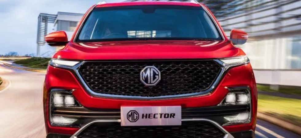 MG Hector SUV (File Photo)